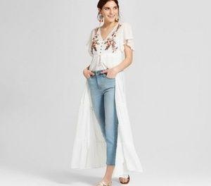 Dresses & Skirts - Button Front Duster Kimono